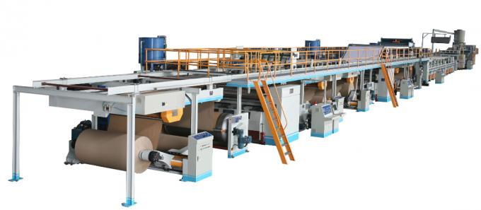 7 Layer Corrugated Carton Making Machine 250m/min Design Speed