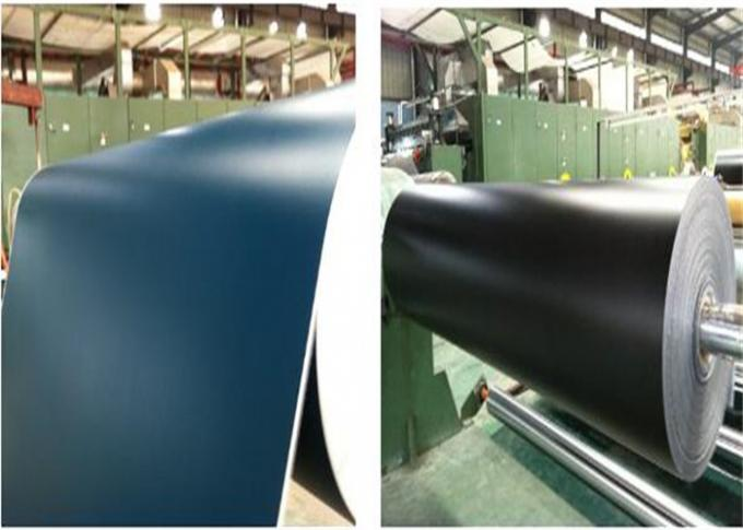 High Tensile PVC Flat Belt Conveyor 2mm Thickness Corrugator Belt Environmental Friendly