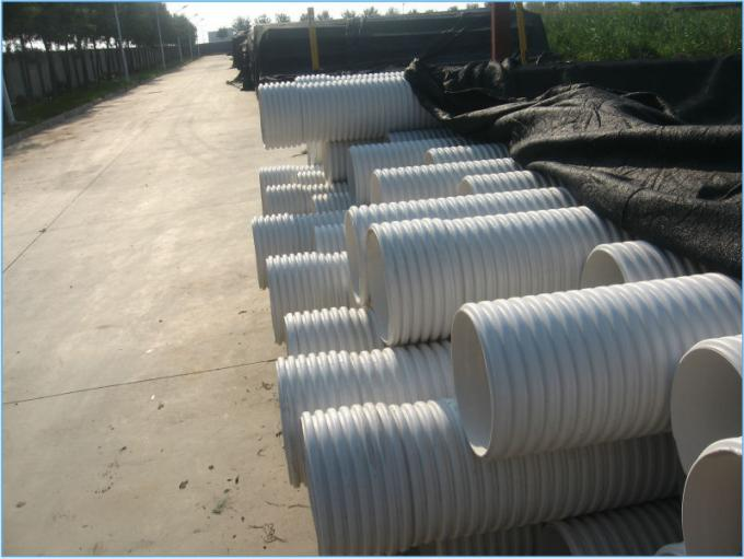 Geocomposite Drain Hdpe Material Double Wall Corrugated Drainage Pipe