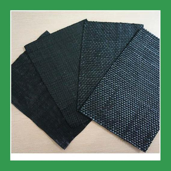 100m Length Geotextile Stabilization Fabric / PP Woven Geotextile for Agriculture Farm Weight 70g-600g