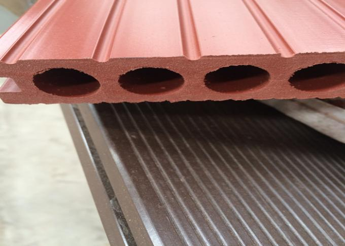 Hollow Wood Plastic Composite Products Corrosion Resistance Eco - Friendly