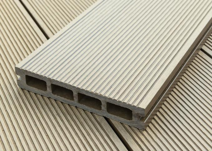 Wood Plastic Composite Eco-friendly Anti-UV Hollow And Solid  Decking Board