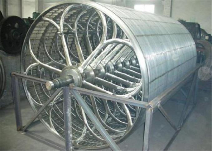 High Speed Paper Machine Parts , Stainless Steel Cylinder Mould Diameter 1250mm