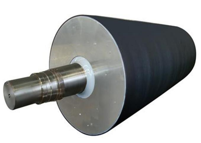 Rubber Cover Paper Making Machine Parts Suction Press Roll