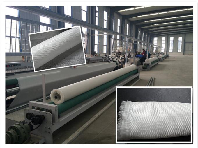 High Strength Geosynthetic Fabric / PET Woven Geotextile from 80kn/m to 1400kn/m
