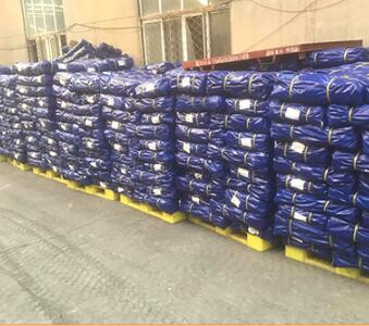 Blue Geosynthetic Fabric PE Tarpaulins 200GSM For Truck Cover