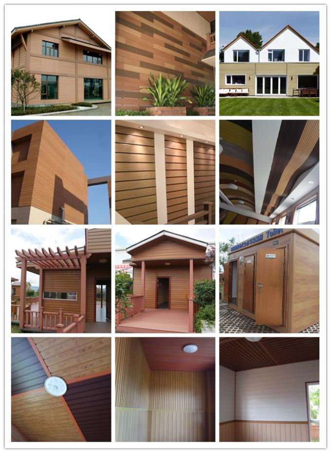 Sound-proof Wood Plastic Composite Indoor & Outdoor Wall Cladding