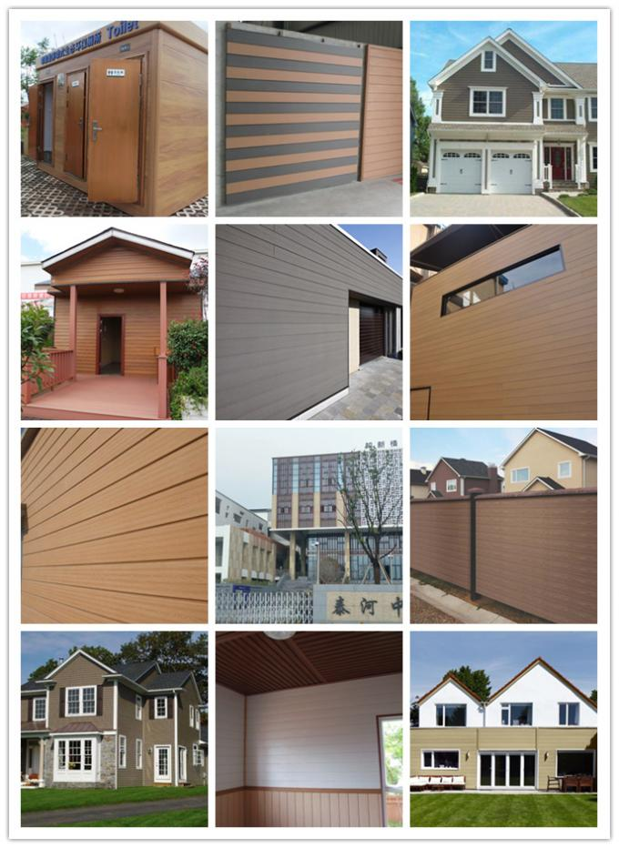 Light Weight Wood Plastic Composite Decorating Indoor & Outdoor Wall Panels