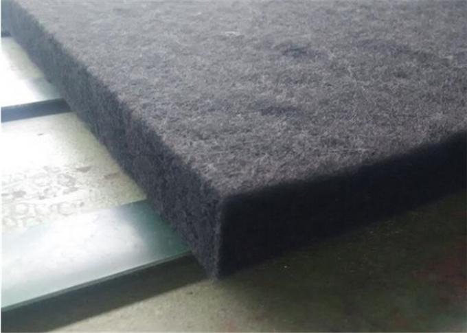 Flame Retardant Wool Felt Sheets 100% Polyester For Automotive Insulation
