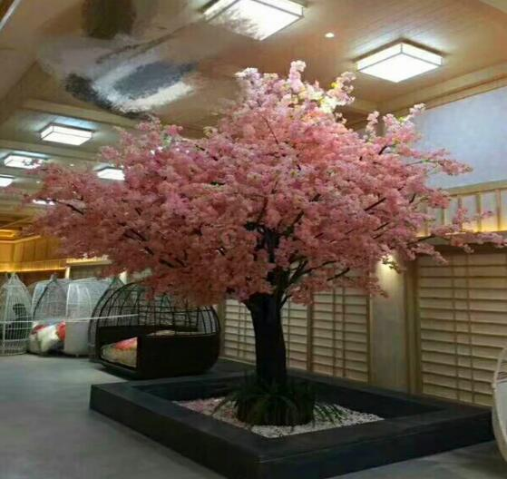 1.5m-3m Height Artificial Green Plants Synthetic Fake Tree For Indoor And Outdoor Decoration