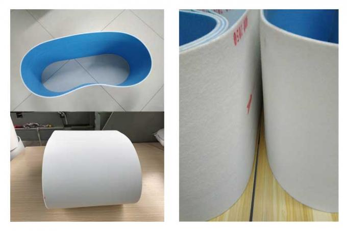 Cotton Type Battery Pasting Belt With Water-absorbing Quality