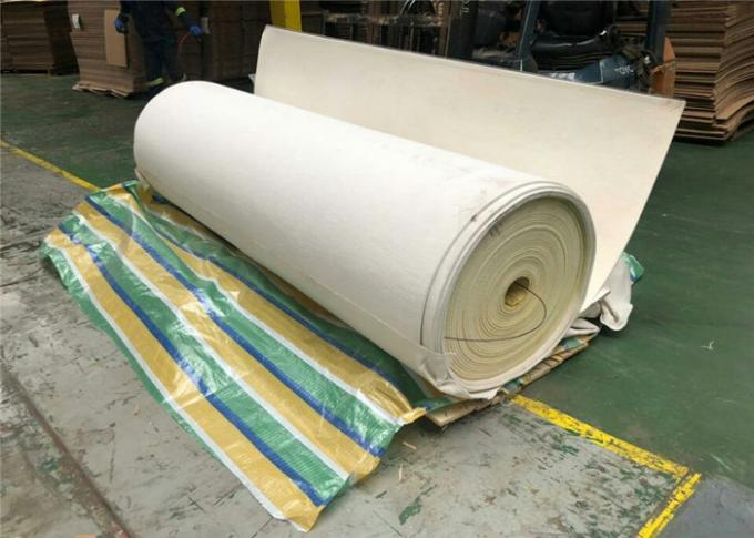 Corrugator Nonwoven Belts with Teflone Edge and High Temperature Resistance