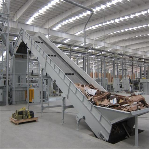 Paper Processing Machinery Roller Chain Belt Conveyors Eco Friendly
