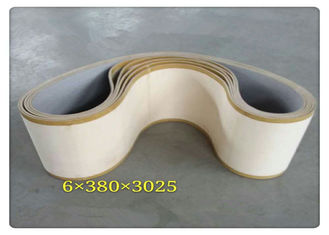China Light Yellow Battery Pasting Belt Cotton Material 12mm Thickness supplier