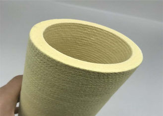 China Needle Industries Felt Fabric Felt Roller Covers For Aluminum Extrusion Run-out Table supplier