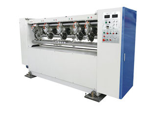 China Thin Blade Slitter Scorer  Corrugated Carton Making Machine Slitting 120m / Min Speed supplier