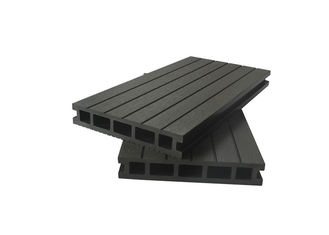 China Wood Plastic Composite Hollow-Type Anti-slip & UV-resistent Floor Decking supplier
