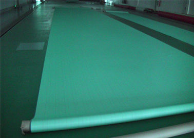 China Green / White Paper Machine Clothing  Triple Layer Forming Fabrics Less Elongation supplier