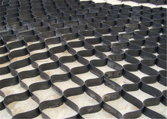 China 75mm Height Hdpe Geocell With Black Color  For Soil Stabilization supplier