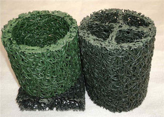 China Geocomposite Drain, Green Color Geocomposite Subsoil Drain PP Material For Landfill Drainage supplier