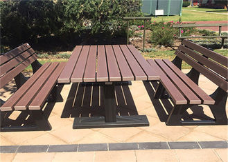 China High Density Wood Plastic Composite Outdoor LeisureFurniture Sets supplier