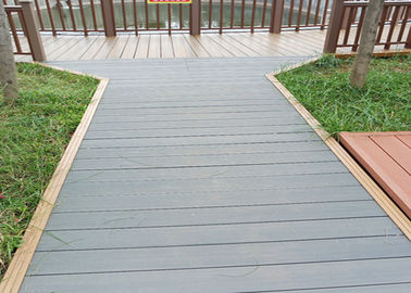 China WPC - Wood Plastic Composite Hollow & Solid Decking Flooring Board supplier