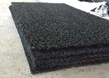 China Geocomposite Drain Sheet Mat 30m Length Black Color For Underground Irrigation supplier