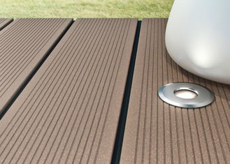 China Recyclable Wood Plastic Composite Decking Board For Outdoor Balcony supplier