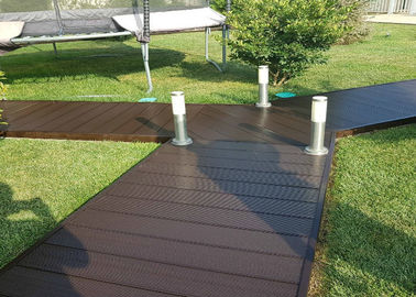 China Hollow Wood Plastic Composite Products Corrosion Resistance Eco - Friendly supplier