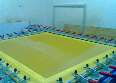 China White And Yellow Color 10T-200T Bolting Cloth For Screen Printing supplier