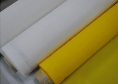 China White Color 9T~200T 380cm 100% polyester screen printing mesh supplier