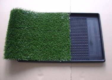 China Green Artificial Pet Turf / Artificial Turf Grass For Dogs Environment Friendly supplier