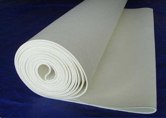 China Professional Off White Needled Wool Felt  For Machine Ironer Thermal Printing supplier