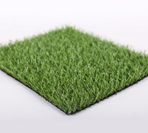 China PP / PE Artificial Grass Landscaping Dog Grass Pad For Balcony Green Color supplier