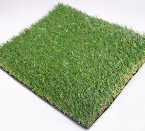 China Outdoor Artificial Putting Turf For Garden , Artificial Lawn Turf 25mm Height supplier