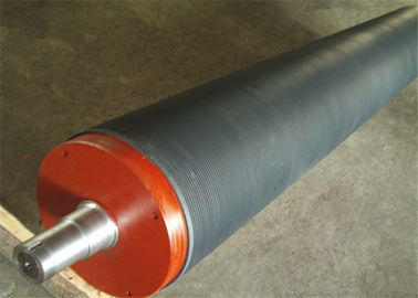 China Paper Making Machine Parts - Grooved Press roll For Paper Mill supplier