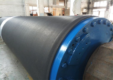 China Paper Making Machine Parts -  Rubber Coated Blind Drilled Press Roll supplier