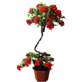 China PE / PU Lotus Fake Potted Plants , Artificial Flower Pots Size Customized supplier