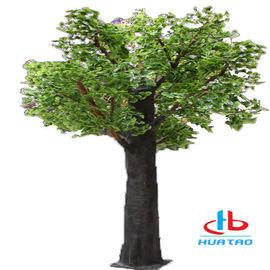 China 1.5m-3m Height Artificial Green Plants Synthetic Fake Tree For Indoor And Outdoor Decoration supplier