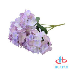 China PE Artificial Hydrangea Flowers For Wedding / Parties Decoration supplier