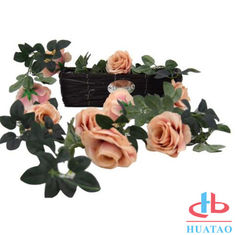 China Decoration Handmade Silk Flowers Artificial Rose Wedding Real Touch supplier