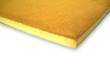 China 10mm 600 Degrees Brown Color Industrial Felt Sheets High Temperature Resistance Pbo And Kevlar Felt Pads supplier