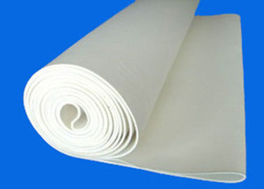 China Needle Punched White Color Machinery Textile Sanfor Felts For Shrinking Machine supplier