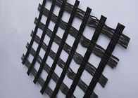 Good Quality Geosynthetic Fabric & Polyester Plastic Mesh Grid , Airfields Fiberglass Grid Mesh Anti - Corrosion on sale