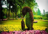 China Creatively Artificial Green Plants , Living Plant Sculptures For Theme Park factory