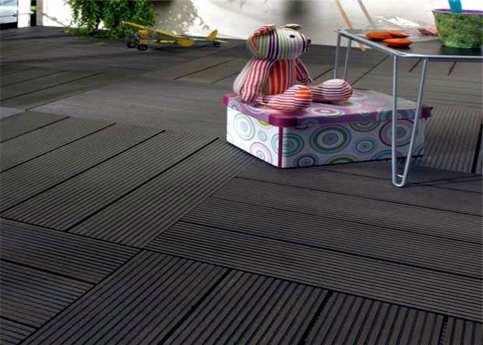 Wood Plastic Composite Easy Install Home Decorating Diy Decking Tiles