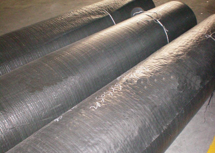 PP Flat Yarn Woven Geotextile Stabilization Fabric Black