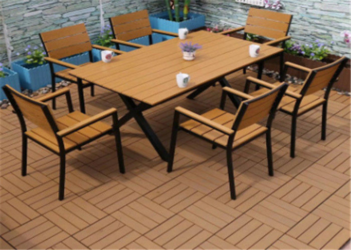 Anti Corrosion Leisure Wood Plastic Composite Outdoor