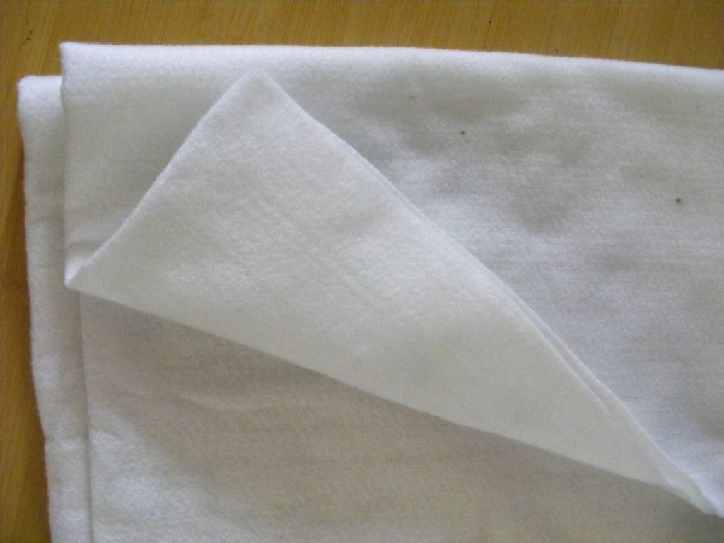 80gsm Geosynthetic Fabric Polyester Thermal Bonded Non Woven