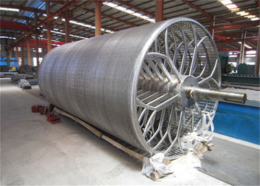 Paper Making Machine Parts Cylinder Mould SS Material Diameter 1.5m High Performance